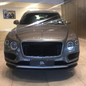 2018 Bentley Bentayga W12 Black Edition